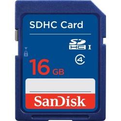 SD Card HC 16GB Class 4 Sandisk