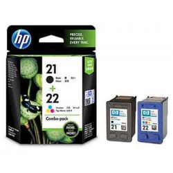 Cartridge HP 21/22 Combo - 883585053445