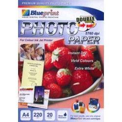 Double Sided Photo Paper 20PC 220GSM Blueprint - 10000124000 - 10000139600