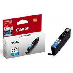 Cartridge CANON CLI-751 Cyan - 4960999905471