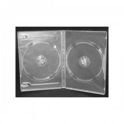 14mm Case DVD Double Clear 100-Pack Box - 10000234700