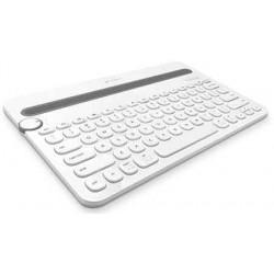 Bluetooth Multi-Device Keyboard K480 White Logitech - 097855107633