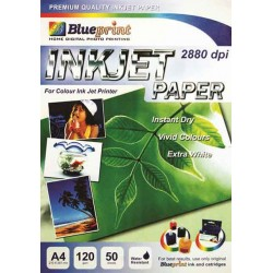 Inkjet Paper 50PC 120GSM Blueprint - 10000119200 - 10000124500