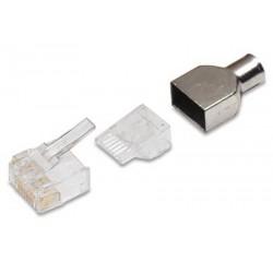 Modular Plug RJ45 50PC AMP - 741149163132