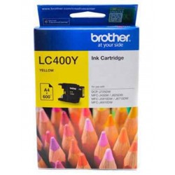 Cartridge Brother LC400Y Yellow - 4977766703291