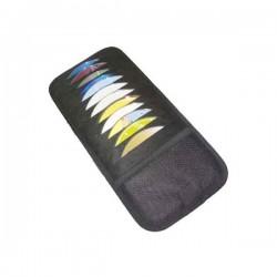 Kantung CD/DVD Mobil(CD Visor) isi 24