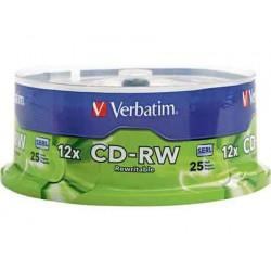CD-RW 12X CB25 Verbatim