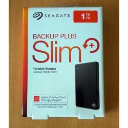1TB Hard Drive Backup Plus Slim USB 3.0 Seagate - 763649053058