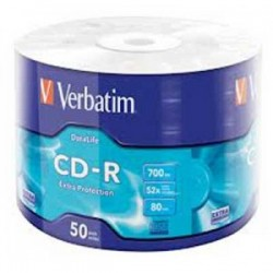 CD-R Green 50Bulk Verbatim - 023942437871