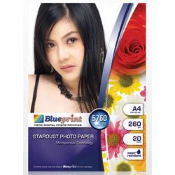 Stardust Paper 20PC 260GSM Blueprint - 10000124300