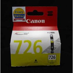 Cartridge CANON CLI-726Y Yellow - 4960999670096