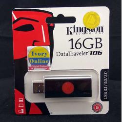 USB Flash Drive DT106 16GB Kingston - 740617282504