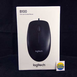 Optical Mouse B100 USB Logitech - 097855060266