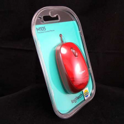 Optical Mouse M105 USB Logitech - 097855085580 , 097855085597 , 097855085603