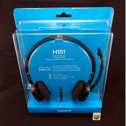 Headset H150 Logitech - 097855082947, 097855082954, 097855082961