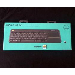 Wireless Touchpad Keyboard K400r Logitech - 097855091116