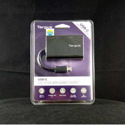 TARGUS ACH230AP TYPE C to 3 PORT USB HUB 3.0 + GIGABIT ETHERNET- 09263632055