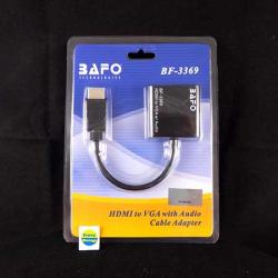BAFO BF-3369 KABEL HDMI-VGA+Audio - 800991229882