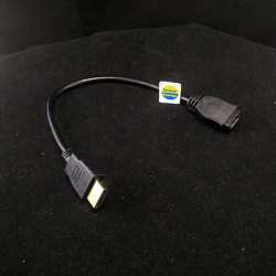 KABEL HDMI EXTENSION 30CM (HDMI MALE to HDMI FEMALE) - 10000276700