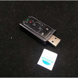 USB Sound card 7.1 Channel - 10000166400