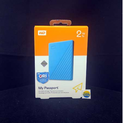 WD NEW MY PASSPORT 2TB BLUE HDD EKSTERNAL USB3.0 - 718037870281