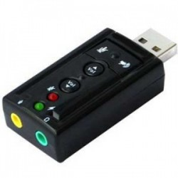 USB Sound card 7.1 Channel - 10000166400