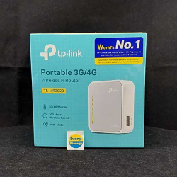 Portable 3G/3.75G Wireless N Router TL-MR3020 TP-Link - 6935364051709