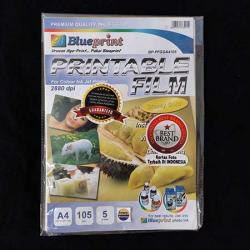 A4 Printable Film 5PC 105 mm Glossy Gold Blueprint - 8997031730254