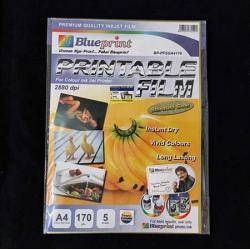 A4 Printable Film 5PC 170 mm Stardust Gold Blueprint - 8997031730292