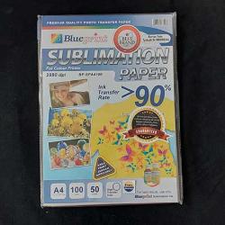 A4 Sublimation Paper 50PC 100GSM Blueprint - 8997031733088