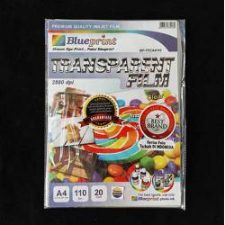 A4 Transparent Film 20PC Clear Blueprint - 8997031730230