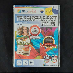 A4 Transparent Film Sticker 20PC Blueprint - 8997031732685