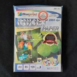 A4 Inkjet Paper 100PC 85GSM Blueprint - 8997031735587