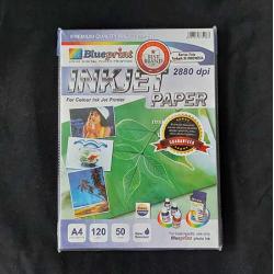 Inkjet Paper 50PC 120GSM Blueprint - 10000119200 - 10000124500