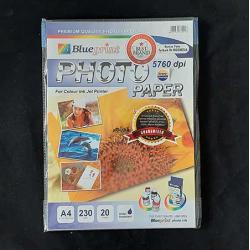 Glossy Photo Paper 20PC 230GSM Blueprint - 8997031730018