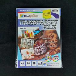 BLUEPRINT Transparent Film Sticker A4 20PC - 8997031732685