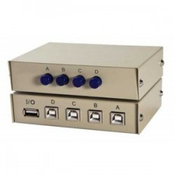 4 Port USB Switch Button - 10000226300