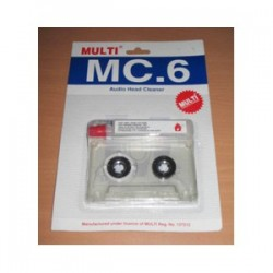 Audio Tape Cleaner 1-Pack No Case
