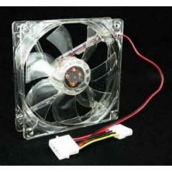 Case Fan 12cm 12V DC Clear - 10000223400