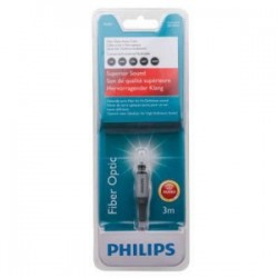 Fiber Optic Audio Cable 3m PHILIPS - 8712581494384